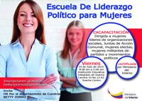 Este viernes llega a Soacha la escuela de liderazgo político para mujeres