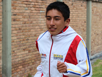 Cristian Moreno, primer soachuno en el IAAF World Championships Youth