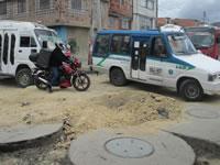 Caos de movilidad en la Comuna uno