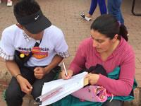 Cerca de siete mil firmas recogió campaña de Nancy Patricia Gutiérrez en Soacha