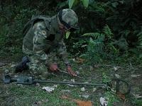 Ejército destruye explosivos improvisados en Gutiérrez, Cundinamarca