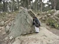 Marcha artística y ambiental por las piedras de Suacha