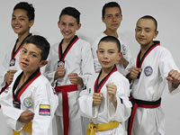 Club Jansu representará a Soacha en el nacional de Taekwondo en Yopal