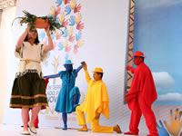Colorida celebración en los 202 años de Cundinamarca