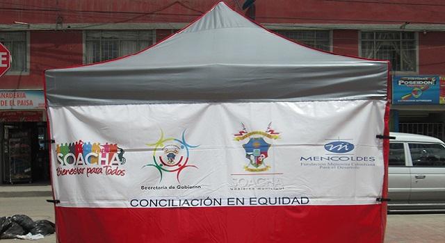 En Soacha avanza campaña de conciliación