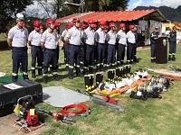 Tabio a la vanguardia en atención a incendios