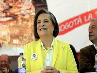 Clara López oficializó su inscripción por la Alcaldía de Bogotá