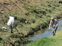 Después de años de insistencia comienza limpieza del Canal Canoas en Soacha