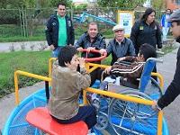 En Madrid está ubicado el primer parque accesible de Colombia