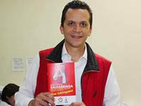 Saldarriaga dice que le quiere devolver la ilusión al pueblo de Soacha