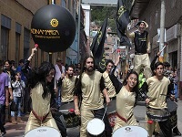 Batucada «Hijos del Dorado» recorren Cundinamarca