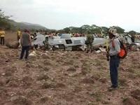 Once militares muertos por caída de avión en Cesar