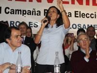 Centro Democrático lanza campaña  en compañía de Nancy Patricia Gutiérrez