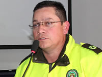 Teniente Coronel Carlos Rojas se despide de Soacha
