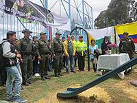 Policía Soacha inaugura parque para niños en Casa Bonita