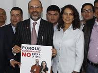 Liberales se unen a  Nancy Patricia Gutiérrez