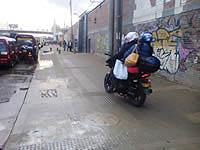 Motociclistas  invaden espacio peatonal en Soacha