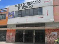 Cierran  plaza de mercado del centro de  Soacha