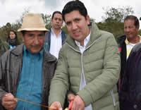 Se inaugura  continuación de la placa huella en el sector El Jazmín
