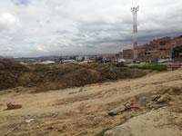 Invasión amenaza   a zona industrial de Cazuca