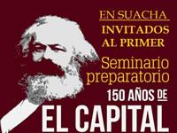 El Capital de Marx y La Paz,  tema de debate en Soacha
