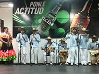 Cundinamarca danza en la Feria de Las Colonias