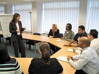 Capacitan en gestión y seguridad en el trabajo a IPS del departamento