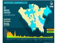43 % de los municipios cundinamarqueses  capacitados en GEL