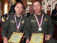 Altos oficiales de la Policía recibieron condecoración del Dios Varón en Soacha