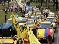 Líder de los taxistas anunció que bloquearán Bogotá