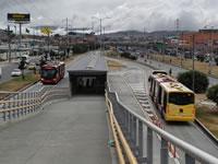 Se abre nuevo vagón de estación Transmilenio Terreros Soacha