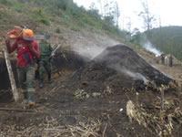En Soacha se adelantan operativos contra quemas a cielo abierto