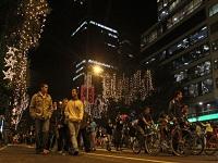 Ciclovía nocturna éste jueves en Bogotá