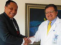 Secretaría de salud de Soacha firma convenio para ampliar su oferta de servicios