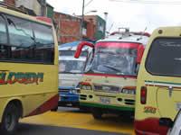 Sin acuerdos en materia de transporte continúa Sibaté