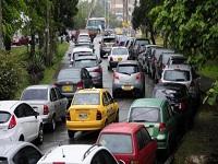 Semana de carro compartido en Bogotá