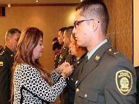 Policía Nacional recibe reconocimiento por su compromiso con los cundinamarqueses