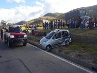 17 lesionados por  accidentes  en carreteras de Cundinamarca