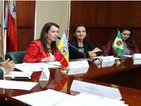 Departamento fortalece  cooperación internacional con Brasil