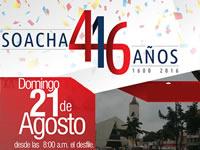 Con desfile militar, Soacha celebra 416 años de fundación hispánica