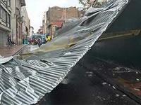 Soacha fue uno de los municipios afectados por los vendavales  de esta semana