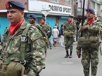 Monumental desfile en el cumpleaños 416 de Soacha