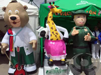E.S.E. de Soacha se puso las alpargatas en la Feria de Servicios