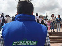 E.S.E. de Soacha presente  en la celebración de los 416 años del Municipio