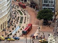 Cerrado por tres meses el Eje Ambiental en Bogotá