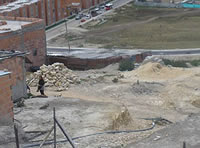 Venta ilegal de lotes  y microtráfico en  La Veredita Soacha
