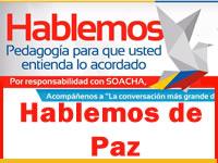 Este jueves se hablará de paz en Soacha