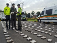 Incautados 868 kilos de cocaína de las disidencias de las ERPAC