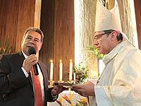 Soacha le dio la bienvenida formal a su nuevo Obispo