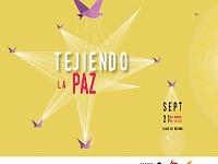 'Tejiendo la paz' este 21 de septiembre en la Plaza de Bolívar de Bogotá